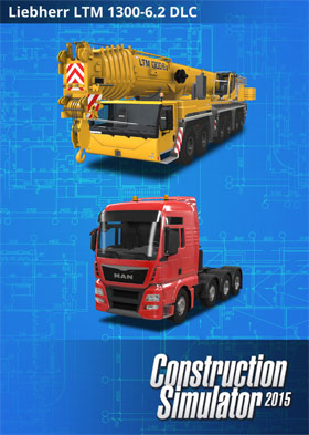 Construction Simulator 2015 Liebherr® LTM 1300 6.2 (DLC6)